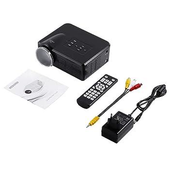 MXECO Mini LED Proyector de video TV portátil DVD Proyectores de ...