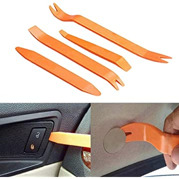 Ladiy 4PCS Durable Car Audio Disassembly Tool Plane Removal Tool Kit Tire