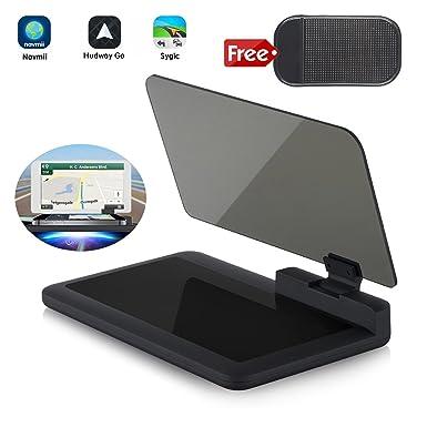 Head-Up Display GPS navegación – bysameyee Soporte Universal de Coche Dash Mount teléfono Celular