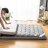 LJ Colchón De Tatami para Dormir, Tapete Plegable para El Piso Colchoneta De Futón Gruesa Y Suave Dormitorio para…