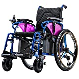 2018 electric wheelchair, old people, disabled, scooter, intelligent folding, light upgrade lithium battery (Electric Wheelchair)