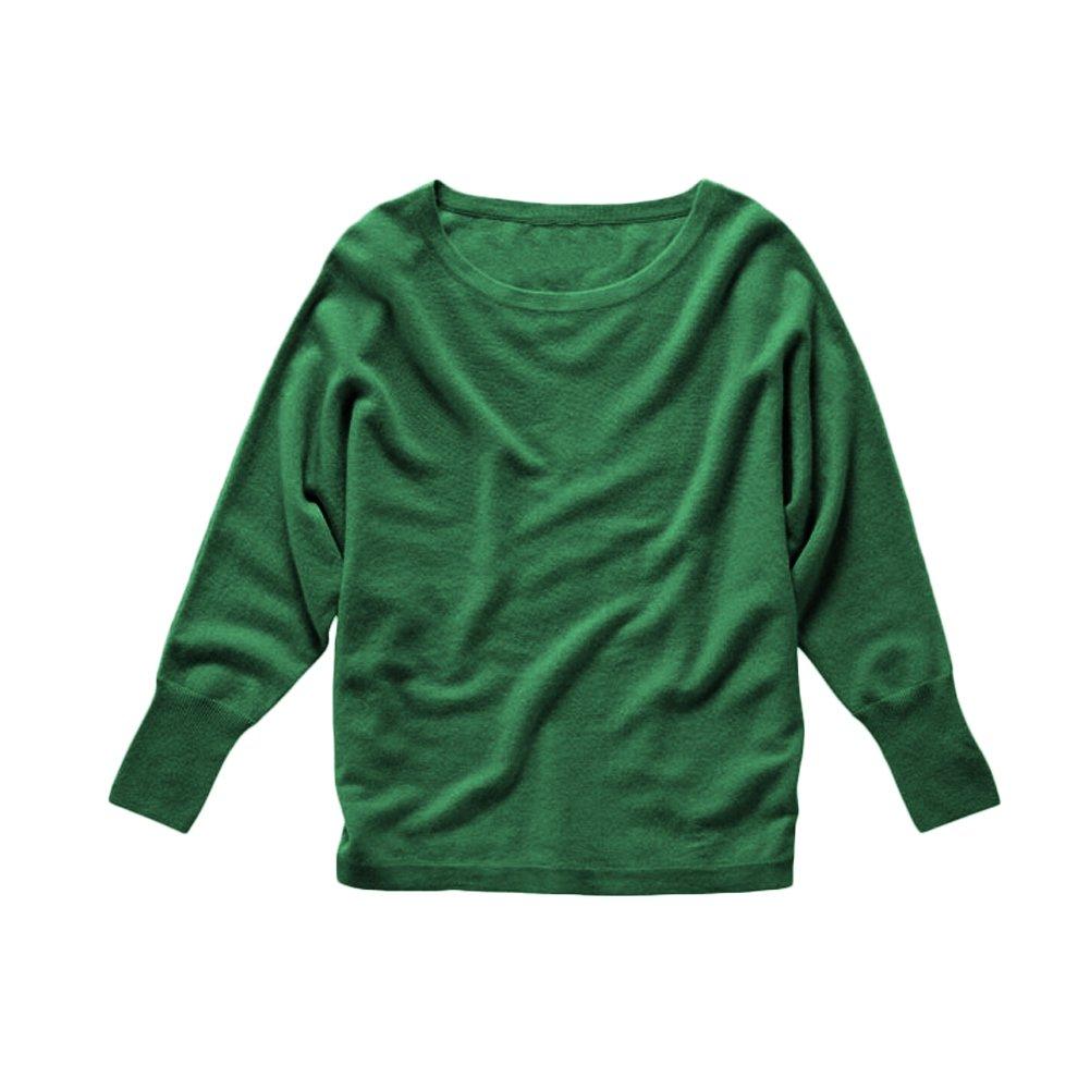 Parisbonbon Womens 100/% Cashmere Crew Neck Sweater