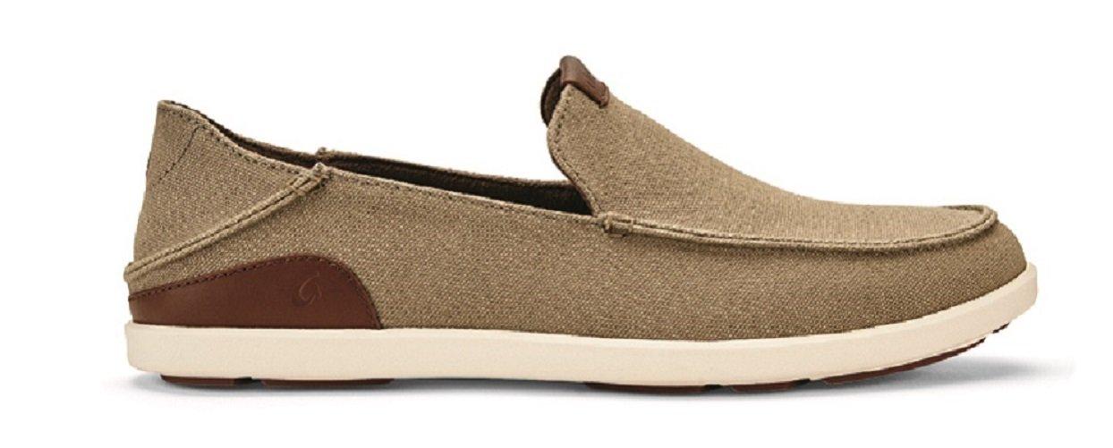 OLUKAI Manoa Slip-On Shoes - Men's Clay/Toffee 11