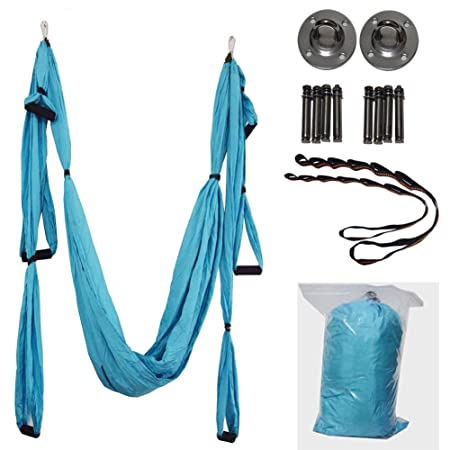 YUJIADC Aerial Yoga Swing Yoga Strong Trapeze Yoga Kit, Air ...