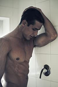 Time to Wind Down Hot Guy in Shower Photo Photograph Cool Wall Decor Art Print Poster 12x18