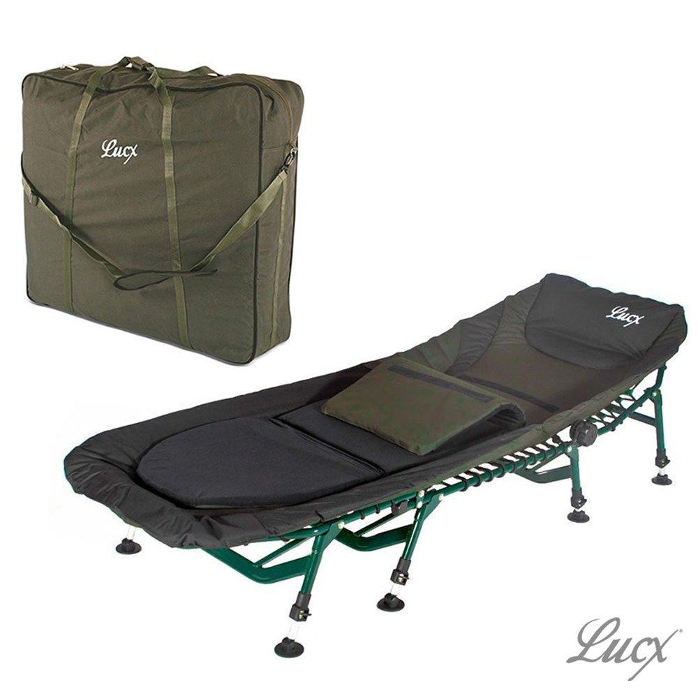 Tragetasche Lucx® Angelliege Transporttasche Bedchair Bag Karpfen Liege