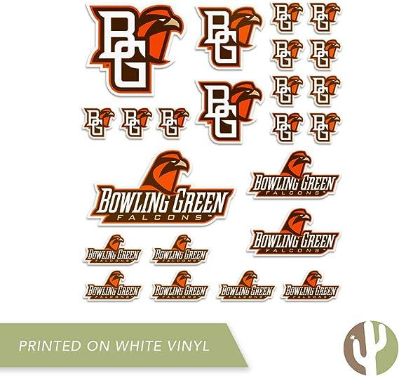 8 Inch Sticker Bowling Green State University BGSU Falcons NCAA Name Logo Vinyl Decal Laptop Water Bottle Car Scrapbook