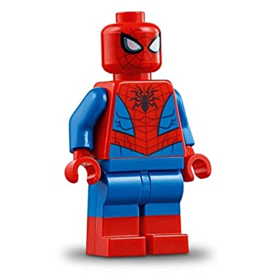 LEGO Superheroes - Spiderman minifig from 76115: Toys & Games