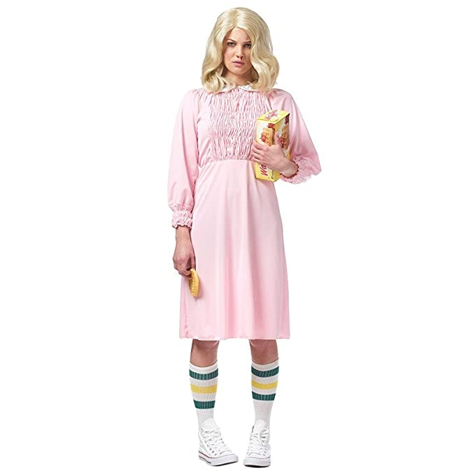 Strange Girl Women's Costume, Pink: X-Small