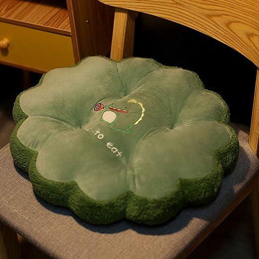XINR Cojines para sillas Decorativos para el hogar Algodón,para Interior y Exterior de algodón cojín Acolchado/Cojín Asiento Silla Jardín,para el Suelo de Cojines, Redondos: Amazon.es: Hogar