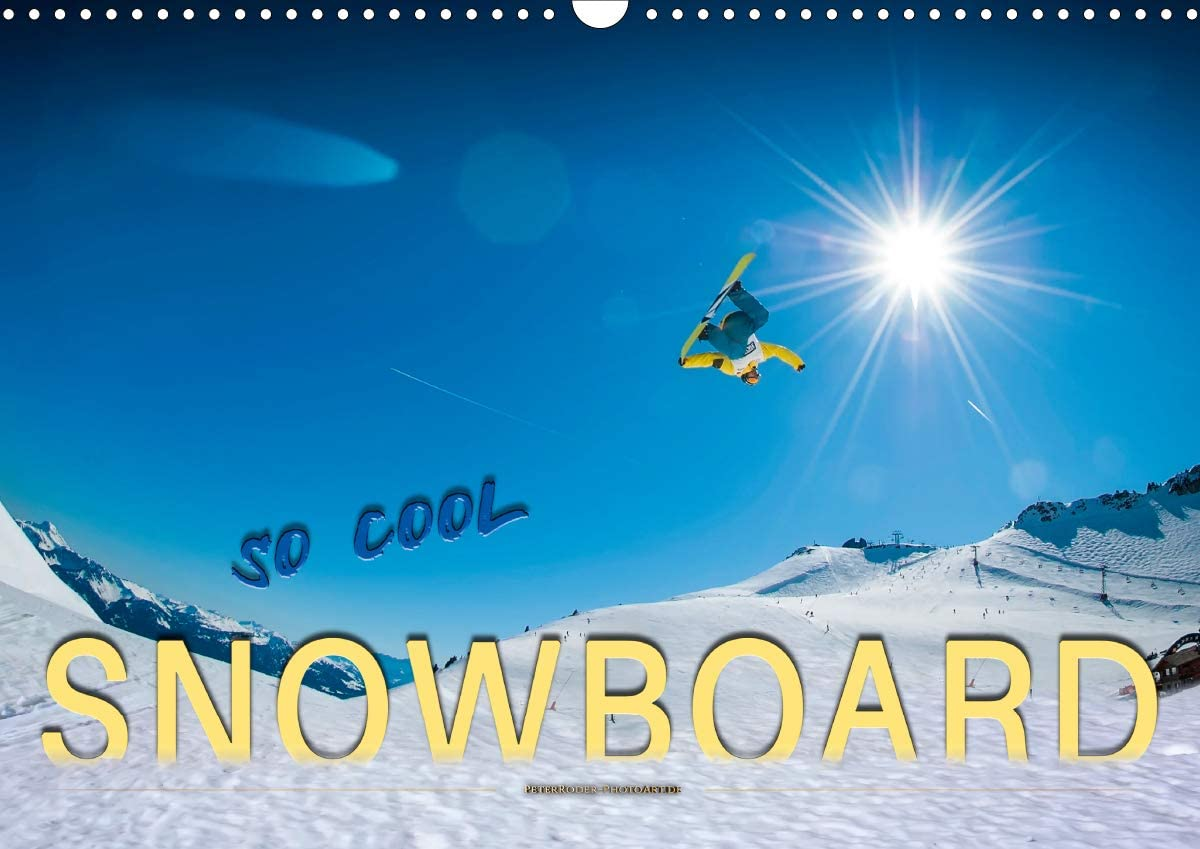 Amazon Com Snowboard So Cool Wandkalender 2021 Din A3 Quer Office Products