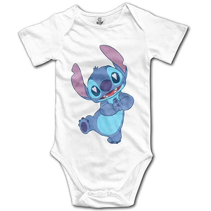 93cada6eed65 Lilo   Stitch Lovey Stitch Baby Onesie Toddler Clothes Outofits  Amazon.ca   Clothing   Accessories