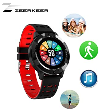 Zeerkeer CF58 Smartwatch-Impermeable Pulsera Inteligente Bluetooth ...