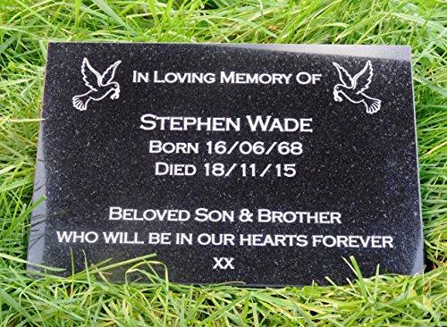 Special Brother Verse Graveside Memorial Grave Spiked Flower Vase ...