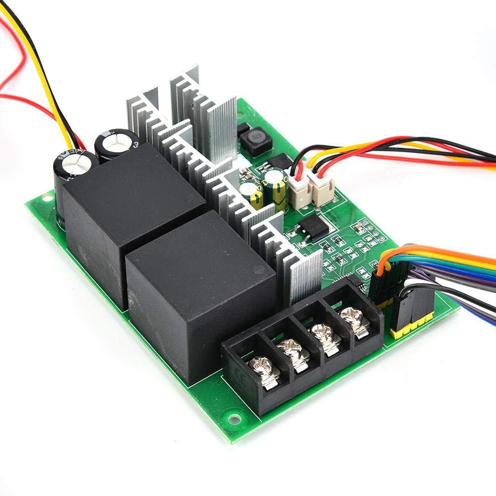 Contr/ôleur de r/égulateur de vitesse de moteur PWM DC Commutateur CW//CCW 0~100/% 60A 12V//24V//36V//48V