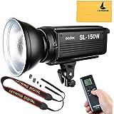 Godox SL-150W 150ws 5600±200K 7200(1m) 大電力 LED LUX LED連続ビデオライト カメラ&ビデオカメラ用