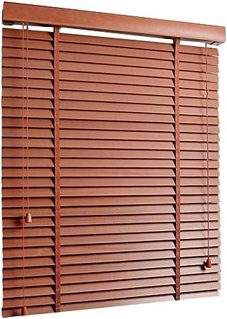 YJFENG - Cortinas venecianas de bambú, Resistentes al Agua, con elevación Vertical y Ajuste de caída: Amazon.es: Hogar