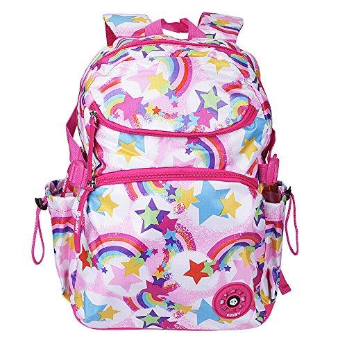School Backpacks, OFEILY Child Carrier Backpacks book bags best student bag (6-12years old) Schulranzen Backpack Schoolbag Shoulders bag (Rose Rainbow) -  BOPFANS, 4493325