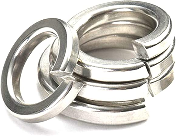 Acero inoxidable, M2 Arandelas 25 piezas de acero inoxidable A2 DIN 125 forma A