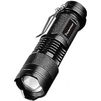 POCKETMAN Mini-zaklamp 7 W 300 lumen mini-zaklamp Q5 LED zaklamp
