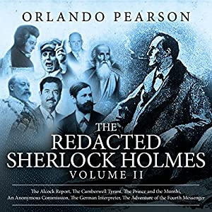 The Redacted Sherlock Holmes, Volume II Audiobook