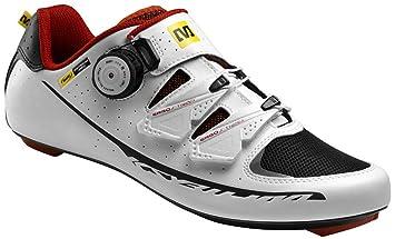 Mavic Ksyrium Pro - Zapatillas ciclismo carretera para hombre - blanco Talla 44 2/3 2015: Amazon.es: Deportes y aire libre