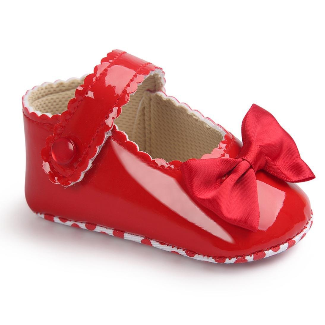 12515b2e00e776 Chaussures premiers pas DAY8 Chaussure Bébé Fille Princesse Chaussure Bébé  Fille Premier Pas Bapteme Bowknot Fashion Chaussures Bébé Garçon ...