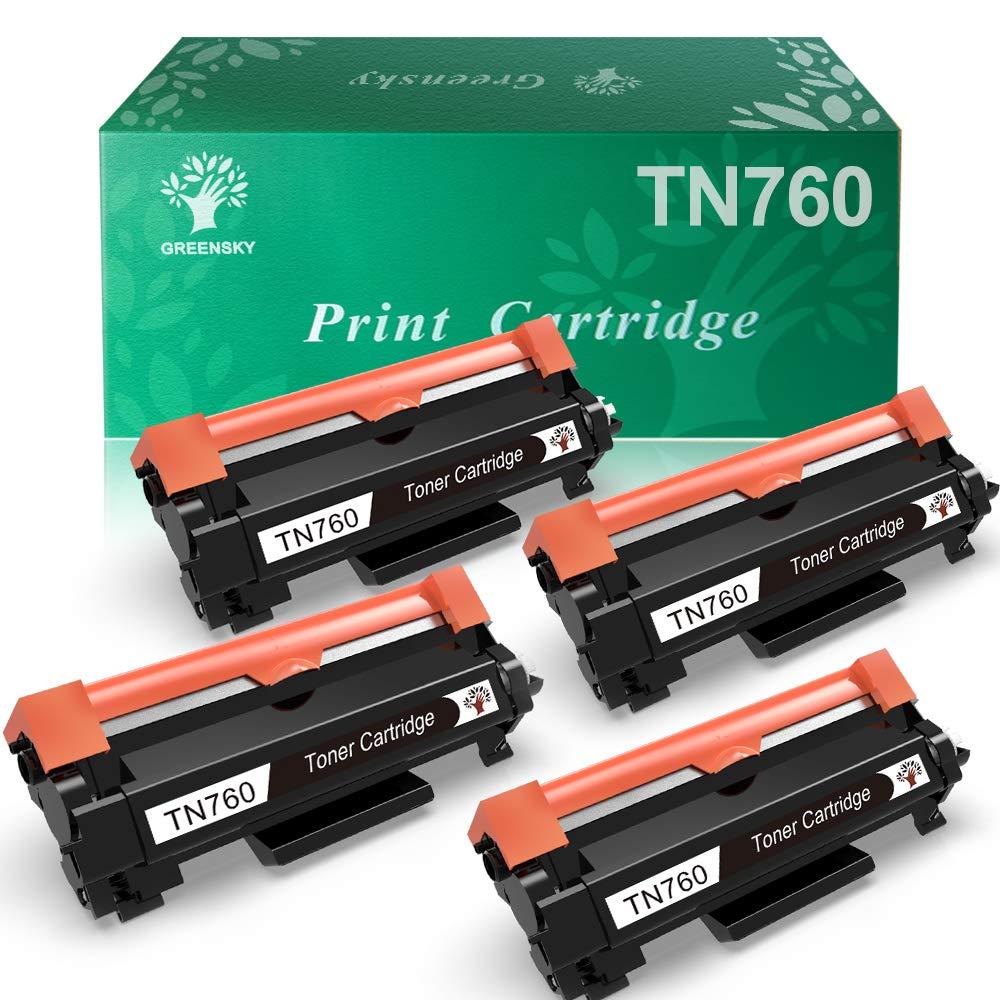 Toner Alternativo ( X4 ) Negro TN760 TN730 TN-760 TN-730 MFC-L2730DW DCP-L2550DW HL-L2350DW