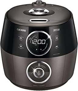 CUCKOO Electric Induction Heating Pressure Rice Cooker CRP-GHSR1009F (Titan Silver)