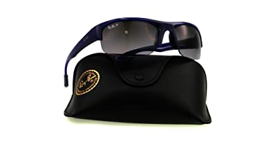 6408f3fac8 Amazon.com  Ray Ban Sunglasses POLARIZED RB 4173 BLUE 6005 T3 RB4173 ...