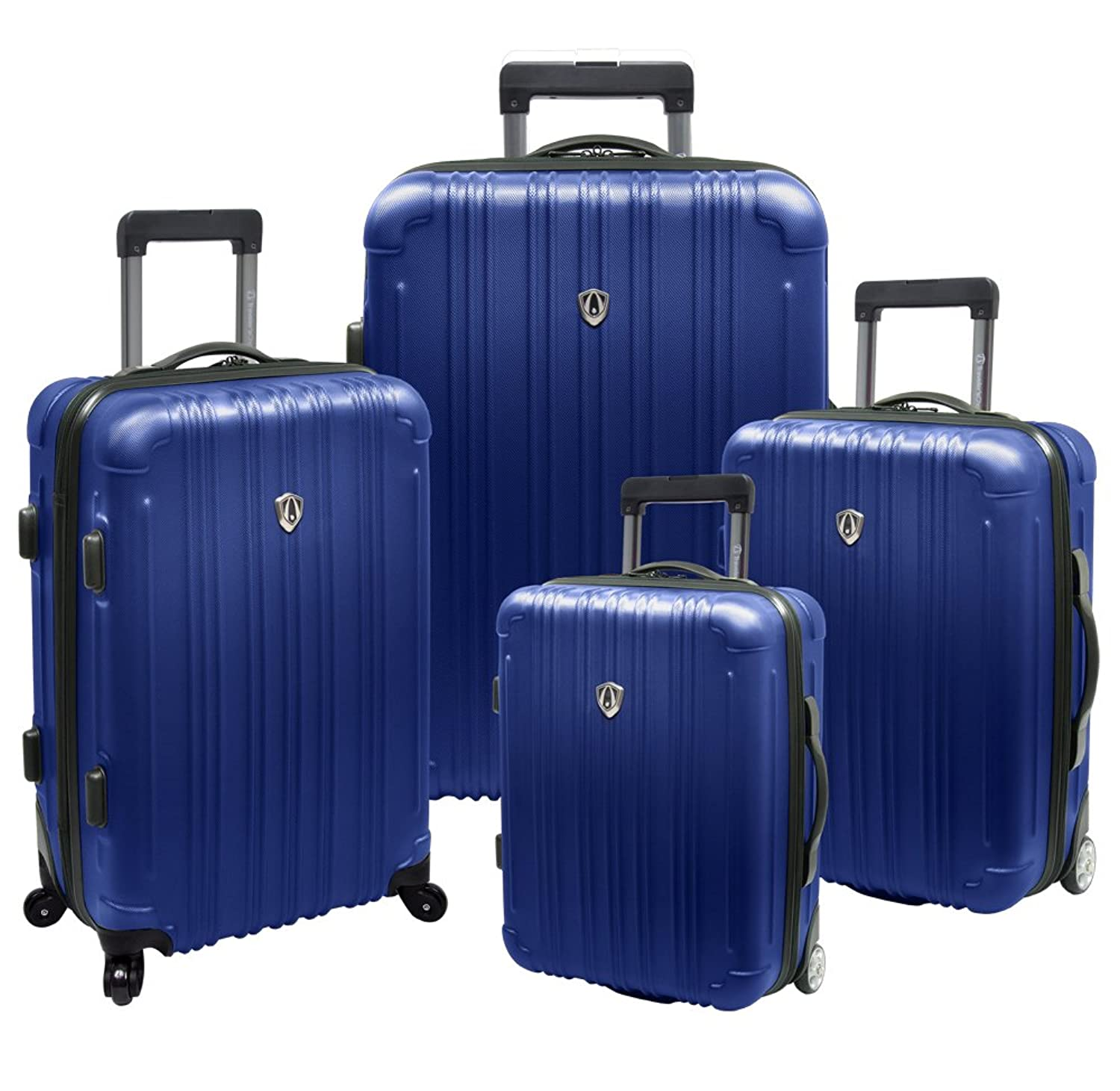Amazon.com | Traveler's Choice New Luxembourg 4pc Expandable Hard ...