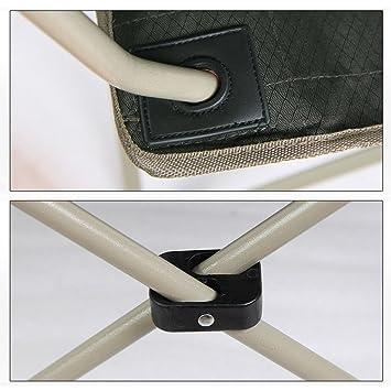 LE silla Camping Plegable al Aire Libre/con toldo de Sombra, Protección Solar/Portátil/Trabajo Pesado Camping/con portavasos/para/Pesca en la Playa: ...