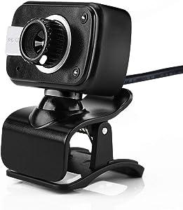 Xinantime HD Webcam USB Desktop Laptop Camera Play Video Calling Computer Camera (Black)