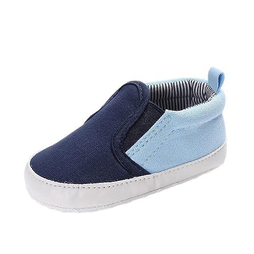 Auxma Zapatos de lona de los muchachos de los bebés niño, Zapatillas de deporte, Zapatillas antideslizantes Para 3-6 6-12 12-18 mes: Amazon.es: Zapatos y ...
