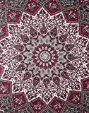 Rajrang Wall Hanging Decorative Psychedelic Hippie Indian Star Mandala Tapestry