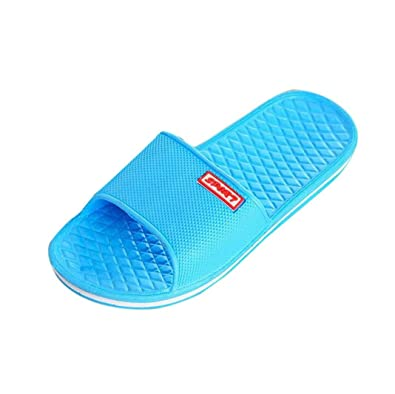 717f5a5d5 Flat Bath Slippers Summer Sandals Beach Shower Shoes Anti Slip Indoor   Outdoor  Home Slippers Rubber
