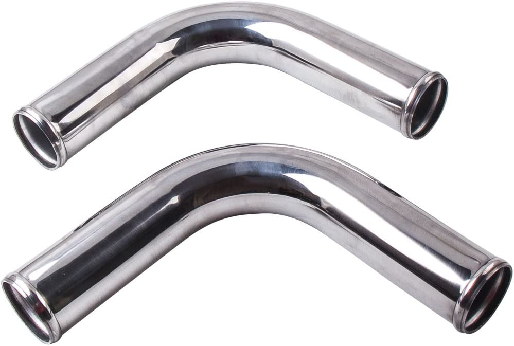 maXpeedingrods Aluminum Universal Intercooler Turbo Piping Pipe Kit 2.5 64mm