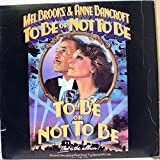 SOUNDTRACK MEL BROOKS TO BE OR NOT TO BE vinyl record