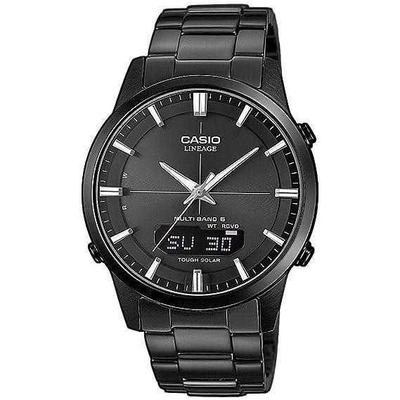 af9aab6a1ffa Casio Reloj Analogico-Digital para Hombre de Cuarzo con Correa en Acero  Inoxidable sólido LCW-M170DB-1AER  Amazon.es  Relojes
