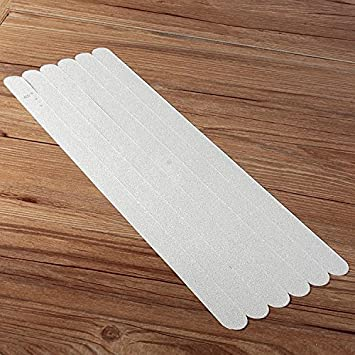 6Pcs PVC Bathroom Ceramic Tile Floor Anti Slip Stickers Bathtub Safety Tape  Mat Part 74