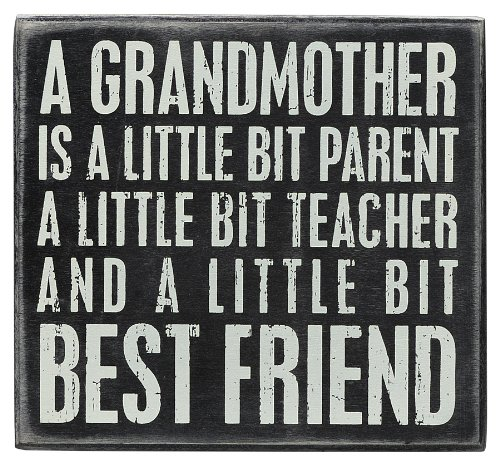 Grandma Is...Best Friend Chalkboard Sign