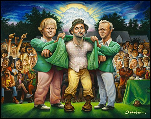 (The Green Jacket. A Tribute to Carl Spackler and 1980 Fine Art Print 22