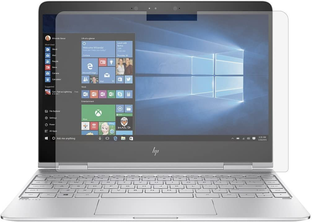 """Leze - Screen Protector (Set of 2) for 13.3"""" HP Spectre X360 2in1 13-w013dx 13-w023dx 13-ac013dx 13-ac023dx 13-ac033dx Series Touch Screen Laptop High Clarity Anti Scratch"""