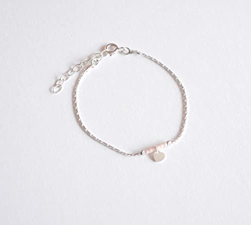 bracelet argent fillette