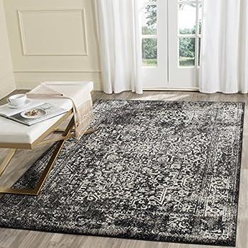 Safavieh Evoke Collection EVK256R Vintage Oriental Black and Grey Area Rug (5'1