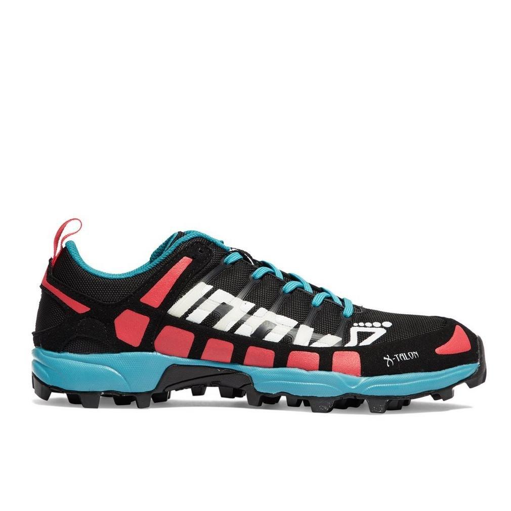Inov-8 Women's X-Talon 212 (W) Trail Running Shoe, Black/Pink/Teal, 6.5 a US