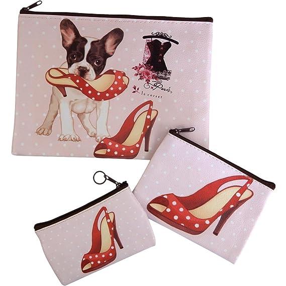 the best attitude 0289f 65262 Naughty Dog con Set di borse scarpe rosse: Amazon.it ...