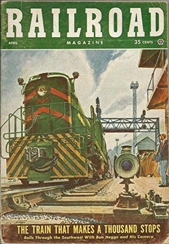 Tender Pennsylvania Railroad - Railroad Magazine (April 1954, Vol. 63, No. 3)