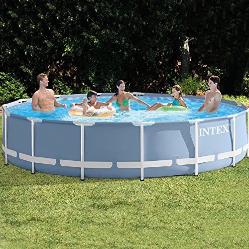 Intex 26728NP - Piscina desmontable Prisma Frame 457 x 84 cm, 11.325 litros: Amazon.es: Jardín
