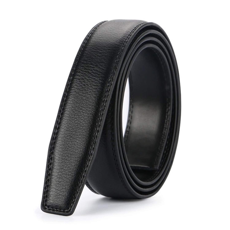 No Buckle 3.1Cm Wide Genuine Leather Men Belt Body Without Automatic Buckle Strap Designer Belts